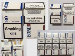 Cigarettes Bond duty free (Blue, Red) wholesale the cost