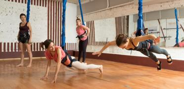 Flay-Fit (fitness Bungee) - Cool, trendy, modern
