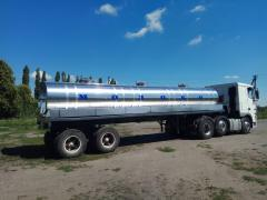 Manufacture and repair of milk tankers, water carriers, of rybovozov
