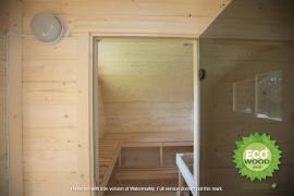 Мобильная баня-бочка овал под ключ 4х2,3 м. от производителя