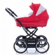 Promotion! New! Set: Stroller 2 in 1, crib, mattress, bedding