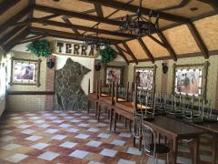 Will sell the cafe Terra + sauna, 500m2, in Novaya Vodolaga